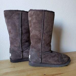 UGG Classic Tall Chocolate Boots
